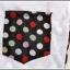 เสื้อยืดแฟชั่นเกาหลี สีพื้นตัดกับลายจุดด้านหลังของตัวเสื้อ กระเป๋าด้านหน้า thumbnail 11