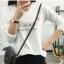 เสื้อยืดคอกลมแฟชั่น สกรีนลายน่ารักๆ ดูสวย สมวัยใส่ได้ทุกวัน thumbnail 5