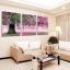 ภาพติดผนัง ร่มรื่นต้นไม้ใหญ่สีชมพู Art-ik thumbnail 1