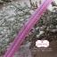 ริบบิ้นผ้าแถบ สีชมพูแต่งลายเส้น กว้าง 1 ซ.ม. แบ่งขายเป็นหลา thumbnail 1