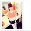 เสื้อแฟชั่นเกาหลี แขนกุด เบาสบาย พริ้วไหวด้วยการเล่นโทนสี 3 ชั้น thumbnail 1