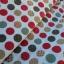 ผ้าคอตตอนไทย 100% 1/4ม.(50x55ซม.) พื้นสีขาว ลายจุดใหญ่ thumbnail 1