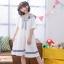 เดรสแฟชั่นชุดกลาสี สไตล์สาวญี่ปุ่น แต่งปกเสื้อ น่ารักสมวัยใสๆ thumbnail 7