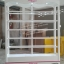 ตู้โชวชั้นวาง วินเทจสีขาว สำหรับบ้านเเละร้านค้า ยาว150 thumbnail 3