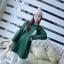 เดรสสั้นเกาหลี สำหรับสาวๆ ใส่ต้อนรับหน้าหนาว เน้อผ้าหนานุ่ม แขนยาว ปกป้องผิวจากลมหนาว thumbnail 11