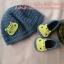 เซ็ทหมวกและรองเท้าพี่ฮิปโป ขนาด 1-3 เดือน *ส่งฟรี EMS thumbnail 1