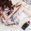 เดรสสั้นสีชมพูหวานๆ ลวดลายน่ารักๆ ขนาดกำลังดี แต่งคอเสื้อนิดๆ น่าใส่สุดๆ thumbnail 7