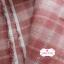 ผ้าทอญี่ปุ่น 1/4ม.(50x55ซม.) โทนสีแดงกล่ำ thumbnail 4