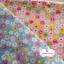 ผ้าคอตตอนไทย 100% 1/4 ม.(50x55ซม.) พื้นสีชมพูโอรส ลายดอกไม้ thumbnail 4