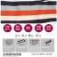 เสื้อยืดแฟชั่นแขน 3 ส่วน เพิ่มสีสันด้วยคาดสีตัดลายขวาง และเล่นริ้วให้พริ้วไหว thumbnail 2