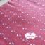 ผ้าทอญี่ปุ่น 1/4ม.(50x55ซม.) สีแดงกล่ำ ทอลายเครืองหมายบวกเล็กๆ thumbnail 3