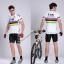 พรีออเดอร์ ชุดปั่นจักรยาน เสื้อปั่นจักรยานแขนสั้น+กางเกงปั่นจักรยานขาสั้น รหัส C067-7 thumbnail 1