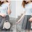 กระเป๋าสตรี แฟชั่นทรงกลม สีสวย หนังทน น่าใช้สอยทุกวัน thumbnail 5
