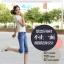 กางเกงยีนส์แฟชั่น ขาแบบ 3 ส่วน เข้ารูปแต่งลายเก๋ๆ กับราคาน่าใส่ thumbnail 17