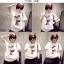 เสื้อยืดแฟชั่นสำหรับสาวๆ ผ้านิ่ม มีลายให้เลือกมากมาย และหลายขนาด SET3 thumbnail 5