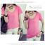เสื้อยืดคอวีสีสันสวยๆ ใส่ได้ทุกยุค ทุกสมัยแฟชั่น มีให้เลือกสีกันอย่างจุใจ thumbnail 30