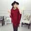 เสื้อคลุมแฟชั่นเกาหลี ดีไซน์โดดเด่ สวยสง่ามากๆ ค่ะ หนานุ่ม อุ่นสบายแน่นอน thumbnail 12