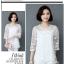 เสื้อชีฟองขาวและดำ แต่งด้วยซีทรูบางๆ ลายผ้าสวยๆ ดูมีราคาจริงๆ thumbnail 19