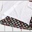 เสื้อยืดแฟชั่นเกาหลี สีพื้นตัดกับลายจุดด้านหลังของตัวเสื้อ กระเป๋าด้านหน้า thumbnail 13