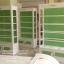 ตู้โชวชั้นวางหลังทึบไม้ วินเทจสีขาว สำหรับบ้านเเละร้านค้า thumbnail 1