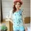 เสื้อชีฟองพิมพ์ลายผีเสื้อสุดสวย สีหวานโทรพาสเทล เย็นสบายตามแบบผ้าชีฟอง thumbnail 16
