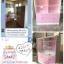 ตู้โชว์กระจกใสชั้นวาง วินเทจ thumbnail 4