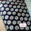 ผ้าคอตตอนไทย 100% 1/4 ม.(50x55ซม.) พื้นสีกรมท่า ลายดอกไม้เล็ก thumbnail 1