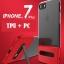 (Sale) เคสไอโฟนรุ่นป้องกันกล้อง+กันกระแทก+ขาตั้งพับได้ (Upper TPU ใส +Lower PC ดำ) IPhone 7 thumbnail 2