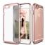 เคสไอโฟน 7 (TPU + PC ) ขอบสีชมพู หลังใส thumbnail 4