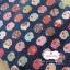 ผ้าคอตตอนลินิน 1/4ม.(50x55ซม.) พื้นสีน้ำเงิน ลายแกะน้อย thumbnail 1