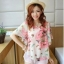 เสื้อชีฟองพิมพ์ลายผีเสื้อสุดสวย สีหวานโทรพาสเทล เย็นสบายตามแบบผ้าชีฟอง thumbnail 5