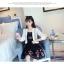 เสื้อคลุมแชั่น สีขาว - ดำ ยอดนิยม ลูกไม้ลายเก๋ๆ ใส่สบาย ระบายอากาศได้ดี thumbnail 18