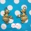 ตัวห้อยซิปทองเหลือง น้องซูรดน้ำต้นไม้ ขนาด ก 2 x ส 3 ซม. thumbnail 1