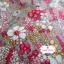 ผ้าคอตตอน 100% 1/4 ม.(50x55ซม.) ลายดอกไม้ โทนสีคลาสสิค thumbnail 2