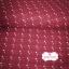 ผ้าทอญี่ปุ่น 1/4ม.(50x55ซม.) สีแดงกล่ำ ทอลายเครืองหมายบวกเล็กๆ thumbnail 2