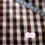 ผ้าคอตตอนไทย 100% 1/4ม.(50x55ซม.) ลายตารางโทนสีน้ำตาล thumbnail 2