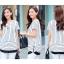เสื้อขาว-ดำแฟชั่น ดีไซน์ทรงยาว มีให้เลือกทั้งแบบแขนสั้นและแขน 5 ส่วน thumbnail 8