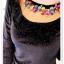 เสื้อแฟชั่นเกาหลีใหม่ ผ้ากำมะหยี่สีมันวาว ตกแต่งคอเสื้อด้วยเพชรสีสันสวยงาม thumbnail 15