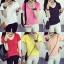เสื้อยืดคอวีสีสันสวยๆ ใส่ได้ทุกยุค ทุกสมัยแฟชั่น มีให้เลือกสีกันอย่างจุใจ thumbnail 1
