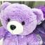 ตุ๊กตาหมี สีม่วง thumbnail 4