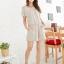 เดรสแฟชั่นเกาหลี สไตล์สบายๆ ด้วยผ้าที่มีความคล่องตัวสูง สวมใส่ง่าย ด้วยรูปแบบของเดรสขาเกางเกงขาสั้น thumbnail 18