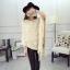 เสื้อคลุมแฟชั่นเกาหลี ดีไซน์โดดเด่ สวยสง่ามากๆ ค่ะ หนานุ่ม อุ่นสบายแน่นอน thumbnail 16