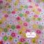 ผ้าคอตตอนไทย 100% 1/4 ม.(50x55ซม.) พื้นสีชมพูโอรส ลายดอกไม้ thumbnail 1