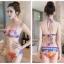 ชุดว่ายน้ำแฟชั่นสุดเซ็กซี่ สีสันโดดเด่น ช่วยขับผิวสาวให้ขาวเด่นสะดุดตา 2 pieces thumbnail 6