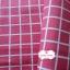 ผ้าคอตตอนลินิน 1/4ม.(50x55ซม.) พื้นสีชมพูเข้ม ลายตารางสีขาว thumbnail 2