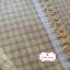 ผ้าทอญี่ปุ่น 1/4ม.(50x55ซม.) ลายตารางสีเหลืองน้ำตาล thumbnail 2