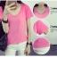เสื้อยืดคอวีสีสันสวยๆ ใส่ได้ทุกยุค ทุกสมัยแฟชั่น มีให้เลือกสีกันอย่างจุใจ thumbnail 4