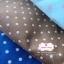 ผ้าคอตตอนลินิน 1/4ม.(50x55ซม.) พื้นสีน้ำตาล ลายจุด thumbnail 5