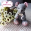[Made to Order] ตุ๊กตาหมีผ้าคอตตอน ขนาด 4 นิ้ว thumbnail 1