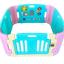 คอกกั้นเด็ก Meeso สี Aquamarine อความารีน ไซส์ S รุ่น playgame thumbnail 1